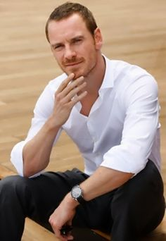 Michael Fassbender... yet another off-limits fantasy, since I realized he resembles more than one male family member.  Damn these good genes, lol!