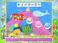 Poppy Cat and the Bubble Volcano - an interactive book (8 pages/scenes, 3 reading modes: Read to Me, Read it Myself and Autoplay) featuring popular TV character Poppy Cat and her friends. Appysmarts score: 89/100