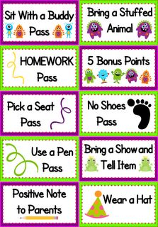 FlapJack Educational Resources: Monster Coupons FREEBIE and Classroom Pack