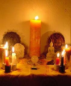 Candle Magick ... Spells And More