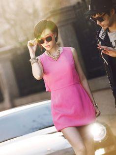 Gain (Brown Eyed Girls) for Harper's BAZAAR Korea, April 2012 issue