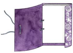 Create Your Own Sketchbook. Could be great when earning the Junior Drawing badge.