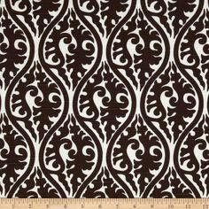 Premier Prints Kimono White/Chocolate