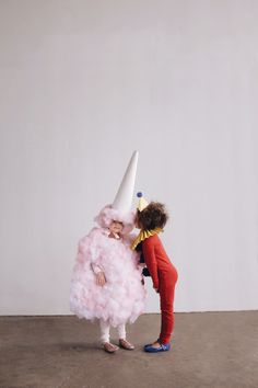 Best DIY Halloween Costume Ideas - DIY Cotton Candy Costume- Do It Yourself Costumes for Women, Men, Teens, Adults and Couples. Fun, Easy, Clever, Cheap and Creative Costumes That Will Win The Contest http://diyjoy.com/best-diy-halloween-costumes