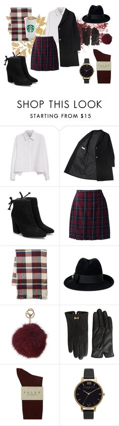 """""""#3"""" by makeemwhistle on Polyvore featuring мода, Y's by Yohji Yamamoto, Lands' End, Steve Madden, Gucci, Humble Chic, Ted Baker, Falke и Olivia Burton"""