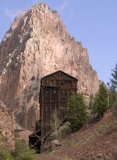 Commodore Mine, on Bachelors Loop Creede, Colorado. Creede is definitely one of my happy places!