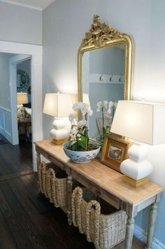 41 Entry Table Ideas to Liven up Your House in Details Foyer Console Table and . 41 Entry Table Ideas to Liven up Your House in Details Foyer Console Table and Baskets. The entry Foyer Table Decor, Entrance Table, Entry Tables, Entryway Decor, Room Decor, Entry Foyer, Entryway Mirror, Church Foyer, Sofa Tables