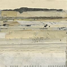 Janet Jones Collage, Mixed Media and Book Art   Mirages