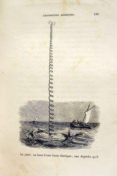 """JJ Grandville, """"un Autre Monde"""", from (surprisingly!) 1844."""
