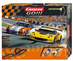 1970-Now 152936: Carrera Go!!! Race For Victory Porsche Corvette C7 1 43 Slot Car Race Set 62369 -> BUY IT NOW ONLY: $89 on eBay!
