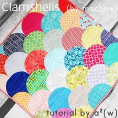 Clamshell Tutorial, unique method for Machine stitching clamshells