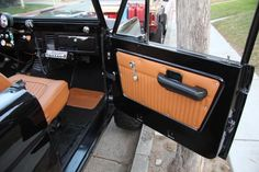 Rocky Roads - Custom Restored Broncos - pleated vinyl door panels