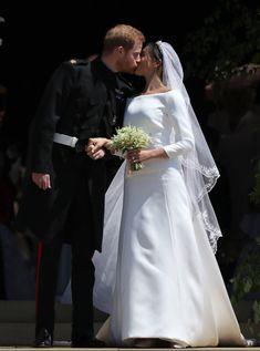 Meghan Markle Prince Harry First Kiss As Man And Wife #MeghanMarkle #RoyalWedding #MarkleSparkle
