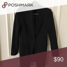 Zara jacket Great for going out one button down the middle Zara Jackets & Coats