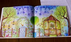 Johanna Basford, secret garden, coloring book