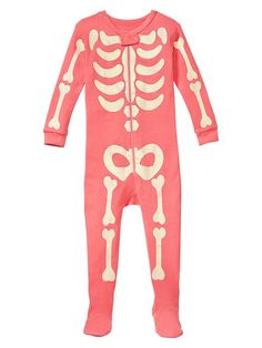 Gap | Skeleton sleep footed one-piece