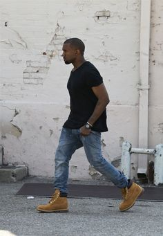 Thinking about getting some Timbs but ever since Kanye wore them Everybody has been getting em... *sigh* To be, or not to be about that life...