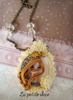 fairy necklace by lapetitedeco on Etsy
