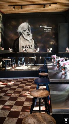At Bavet in Gent you can eat a tasty pasta in a cozy environment. The different sauces are freshly prepared daily, simple and delicious. Cafe Restaurant, Restaurant Design, Eadweard Muybridge, Flanders Belgium, Ghent Belgium, Pub, Bar Interior, Beautiful Space, Outdoor Travel