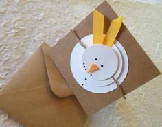 Diy Christmas Cards, Christmas Crafts For Kids, Xmas Cards, Winter Christmas, Diy Cards, Handmade Christmas, Holiday Cards, Mery Chrismas, Kids Wraps