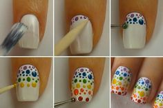 diseño de uñas paso a paso - Buscar con Google