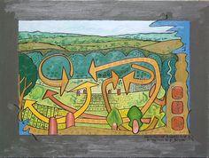 Gerald Shepherd: Meditative Landscape - Remembered Scene