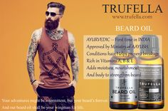 #BeardOil  Beard is the new trend, Beard is Sexy, Beard make you #feel #Extraordinary, and for those extraordinary men #truefella has created special oil to take care of your extra ordinary Beard, Beards are spacial Take care of them with new Truefella #Beard #Oil.