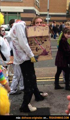Disfraces originales: Muerto viviente.