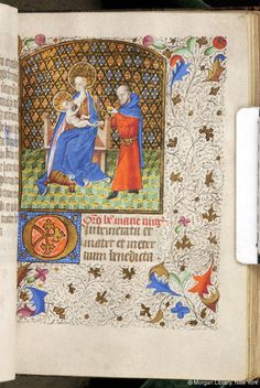 Book of Hours, MS M.84 fol. 109r - Images from Medieval and Renaissance Manuscripts - The Morgan Library & Museum