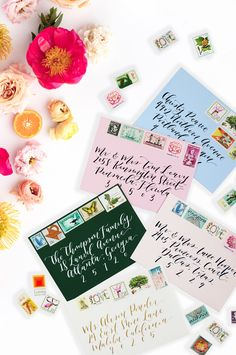 Using Vintage Stamps On Your Wedding Invitation Envelopes! Get All The  Information You Need To