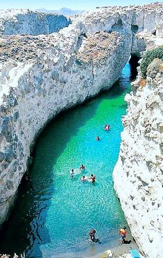Swimming Hole, Greece