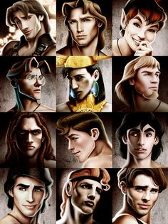 Another reason to love Disney Princesses... cuz of the Disney Heroes!!