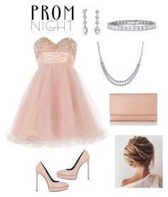 """""""Prom Night"""" by annalynn2424 ❤ liked on Polyvore featuring Anoushka G, Bling Jewelry, Yves Saint Laurent and L.K.Bennett"""