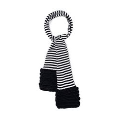 I love the Betsey Johnson Baby Stripe Scarf from LittleBlackBag