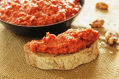 Turkish Roasted Red Pepper Dip