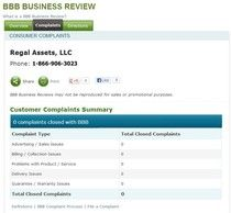 https://www.rebelmouse.com/regalassetsreview/ - Lear Capital Consumer Complaint Our blog reviews the top precious metals companies and shares consumer complaints for companies like American Bullion, Regal Assets, Goldline, and Lear Capital. https://www.facebook.com/bestfiver/posts/1429137313965906