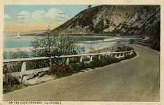 On the Coast Highway  - north of Malibu, Cali