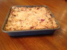 Apple Crumb Cake recipe by Triss Stein in Bake, Love, Write. Find her on www.trissstein.com.
