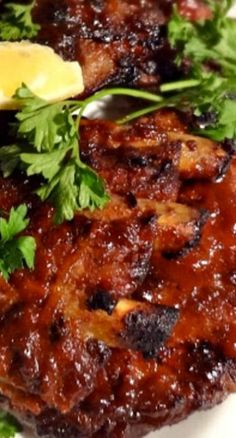 Ina Garten& Foolproof Ribs with Barbecue Sauce - Rib Recipes, Grilling Recipes, Dinner Recipes, Cooking Recipes, Bbq Meals, Recipies, Smoker Recipes, Chef Recipes, Dinner Ideas