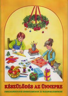 Marci fejlesztő és kreatív oldala: foglalkoztató Kindergarten, Santa, Photo And Video, Christmas Ornaments, Holiday Decor, School, Winter, Painting, Advent