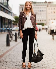 black jeans fashion - Yahoo Image Search Results