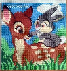 Bambi und Klopfer - Bügelperlen