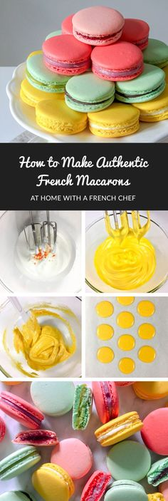 How To Make French Macarons - Les Bons Macarons