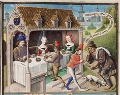 Augustine, La Cité de Dieu (Vol. I). Translation from the Latin by Raoul de Presles Place of origin, date:  Paris, Maïtre François (illuminator); c. 1475; 1478-1480