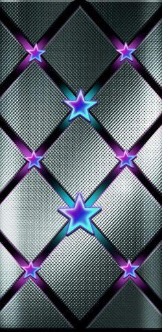 Diamond Wallpaper, Pretty Phone Wallpaper, Skull Wallpaper, Star Wallpaper, Purple Wallpaper, Trendy Wallpaper, Print Wallpaper, Pretty Wallpapers, Colorful Wallpaper