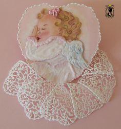 SWEET DREAM MY ANGEL - Cake by RoyalSugarArt