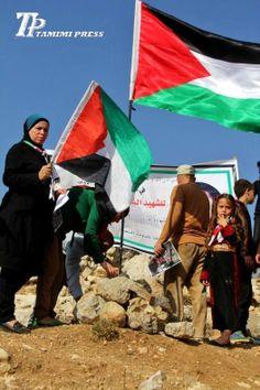 PHOTO: Weekly Nabi Saleh protest against the Israeli occupation 15 Nov(2).