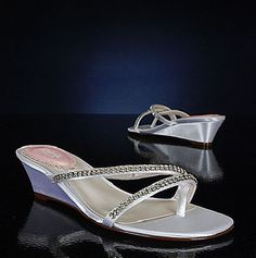 Pink Beach Ivory Bridal Shoes  these would be good for the girls