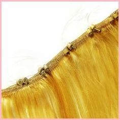Verlocke! ZIP remy hair WEFT straight, 30cm/12