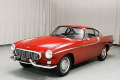 1961 Volvo P1800 Coupe Red Maintenance/restoration of old/vintage vehicles: the material for new cogs/casters/gears/pads could be cast polyamide which I (Cast polyamide) can produce. My contact: tatjana.alic@windowslive.com